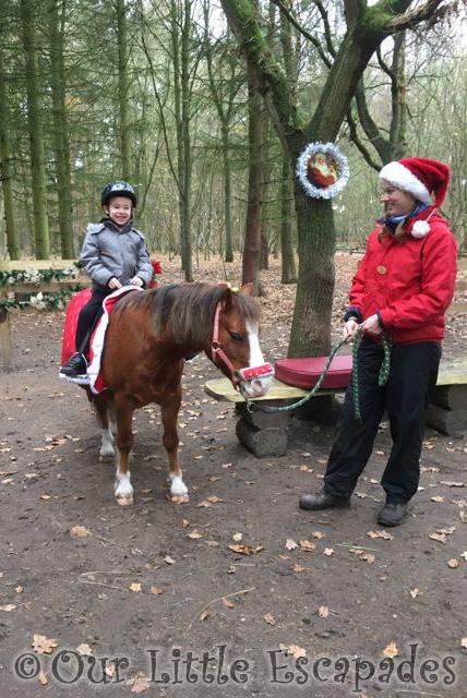 center parcs pony ride at elveden forest