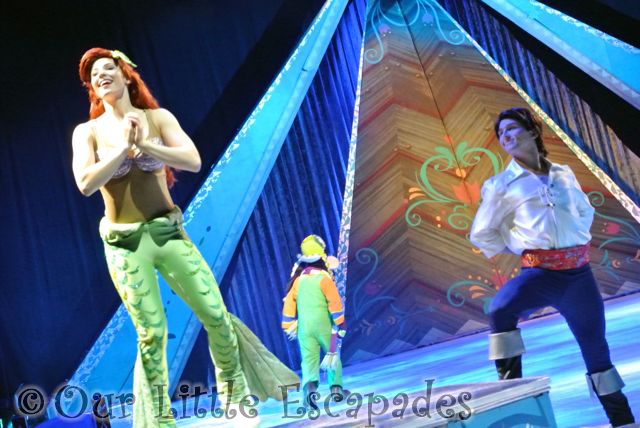 disney on ice frozen little mermaid