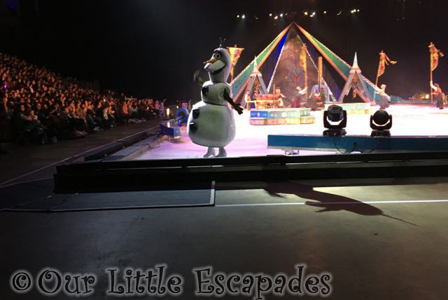 disney on ice frozen olaf