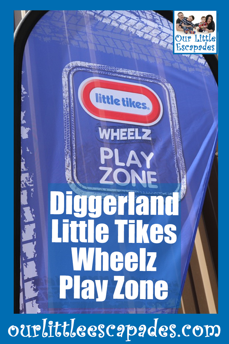 Diggerland Little Tikes Wheelz Play Zone
