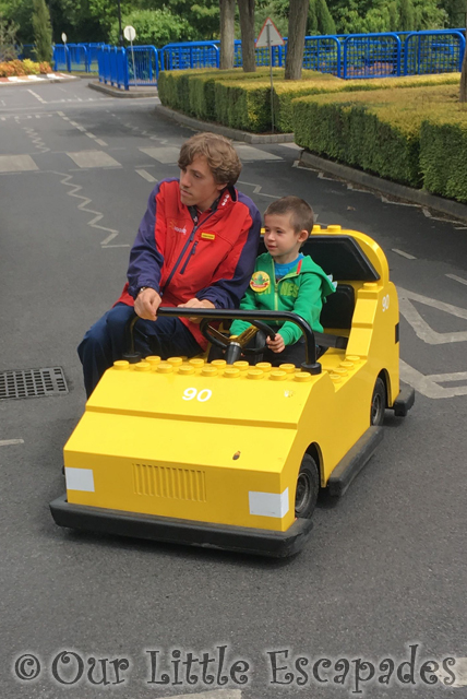 Legoland Windsor Lego City Driving School