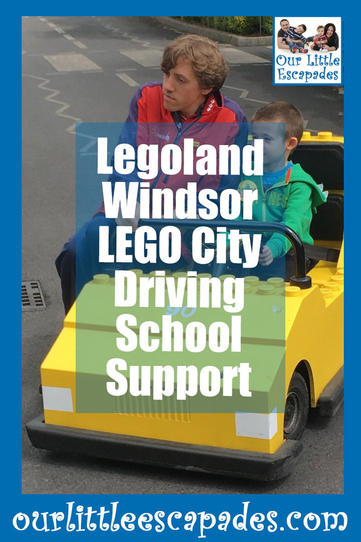 Legoland Windsor Lego City Driving School Support