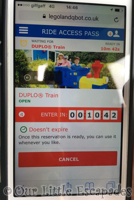 legoland windsor ride access pass