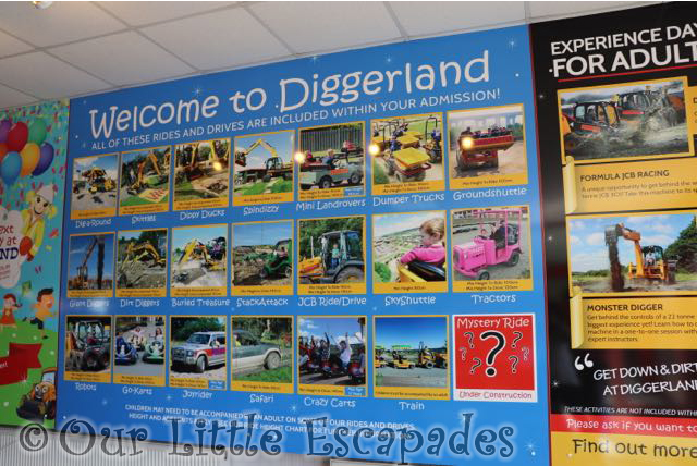 diggerland kent ride restrictions