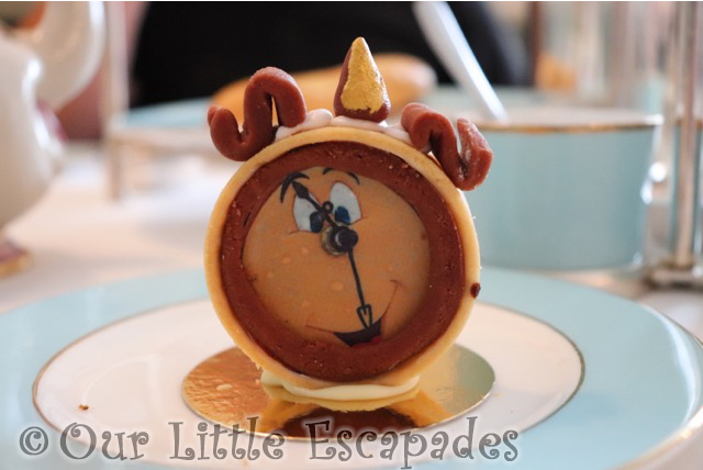 beauty and the beast afternoon tea cogworth dessert