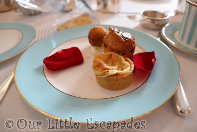 beauty and the beast afternoon tea savouries