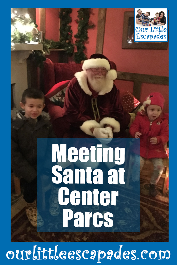 meeting santa at center parcs