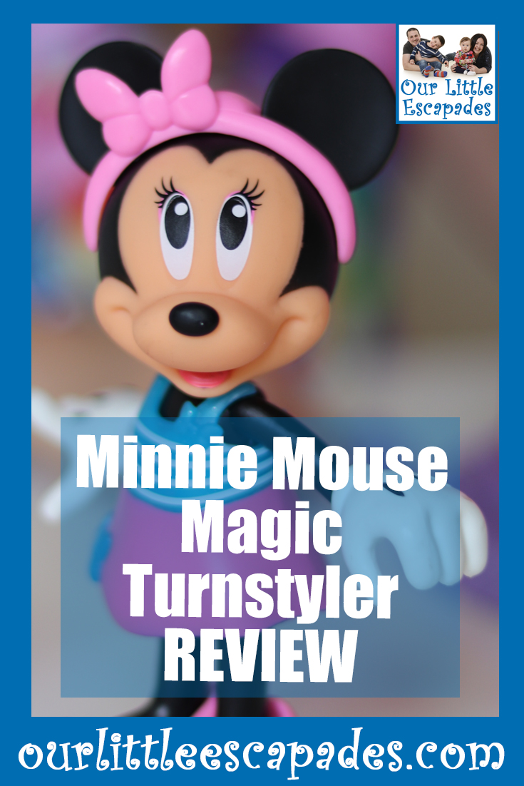 minnie mouse magic turnstyler