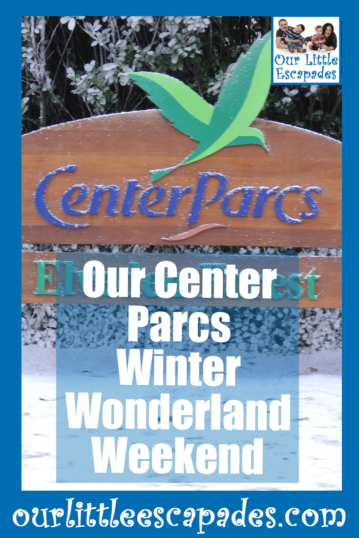our center parcs winter wonderland weekend