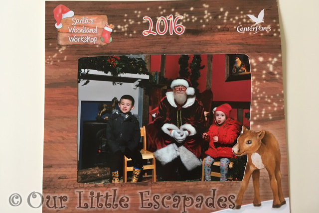 professional photo santas woodland workshop center parcs