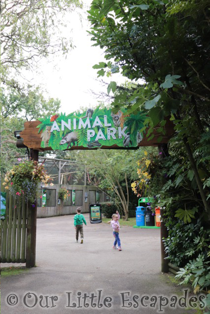 animal park entrance