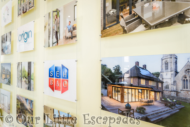 photo wall close up seh bac showroom colchester centre excellence