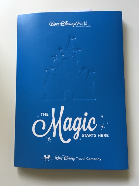 walt disney world travel documents