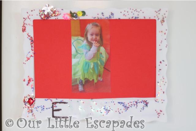 handmade picture frame nursery christmas gift