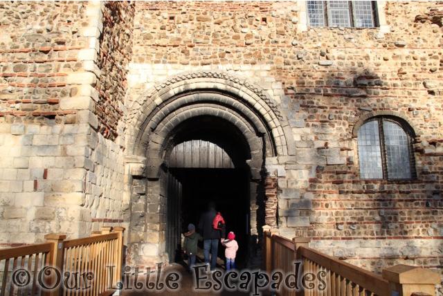 colchester castle entrance