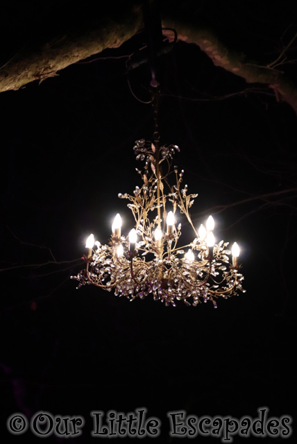 enchanted audley end tree chandelier