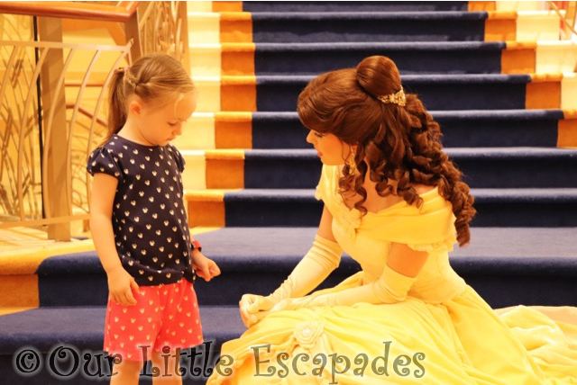 little e belle disney cruise princess gathering