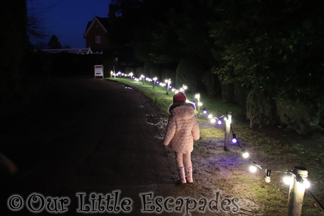 little e christmas lights enchanted audley end