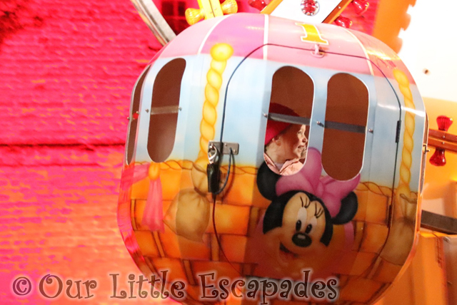 little e fairground ride