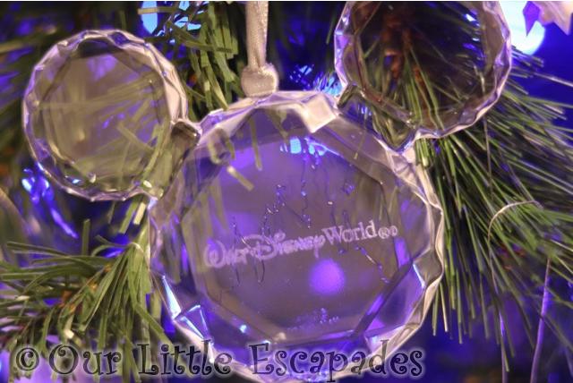 mickey ears walt disney world christmas decoration