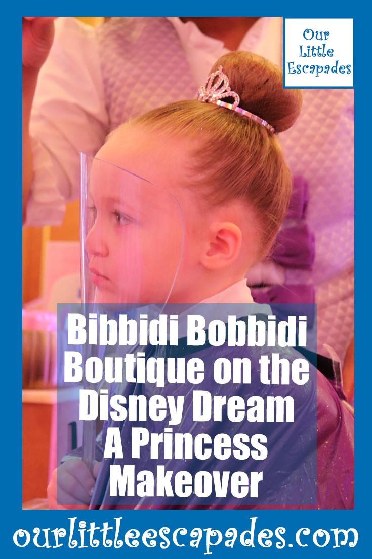 bibbidi bobbidi boutique disney dream princess makeover