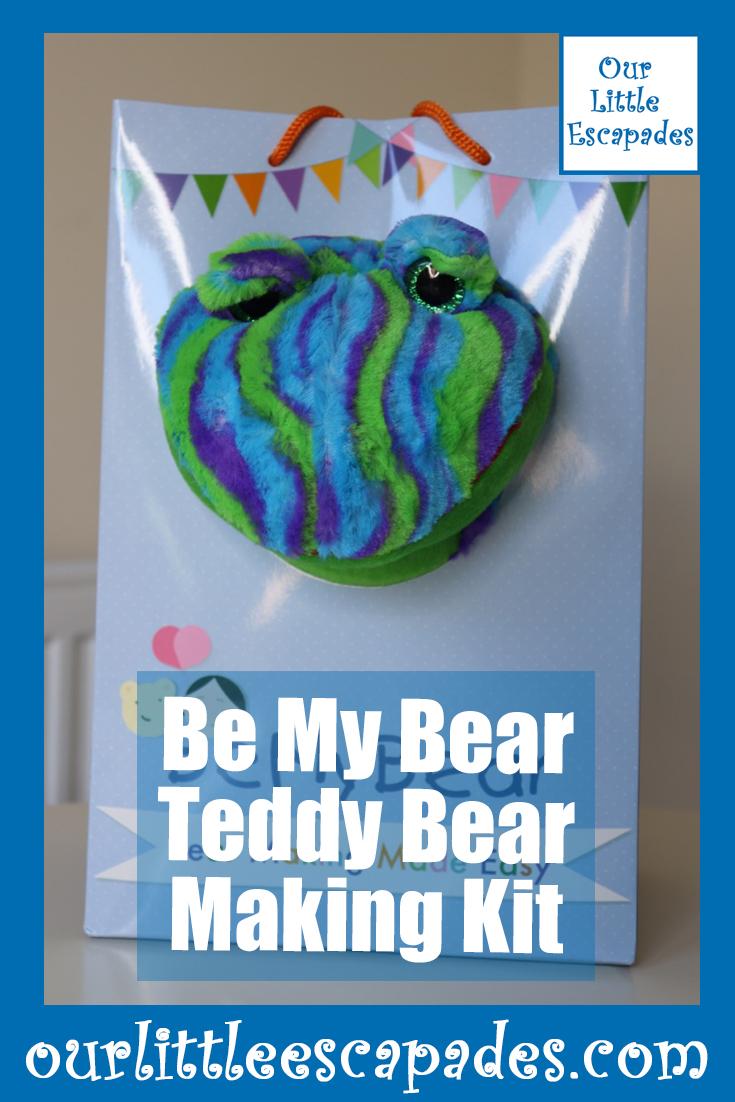 be my bear teddy bear making kit