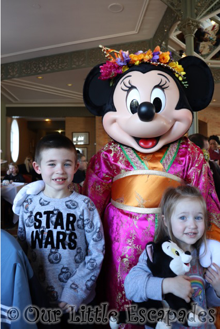 minnie mouse chinese new year disneyland paris inventions sunday brunch