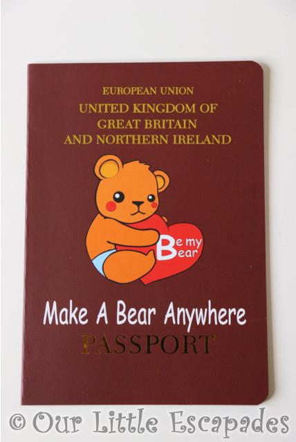 be my bear make bear anywhere passport