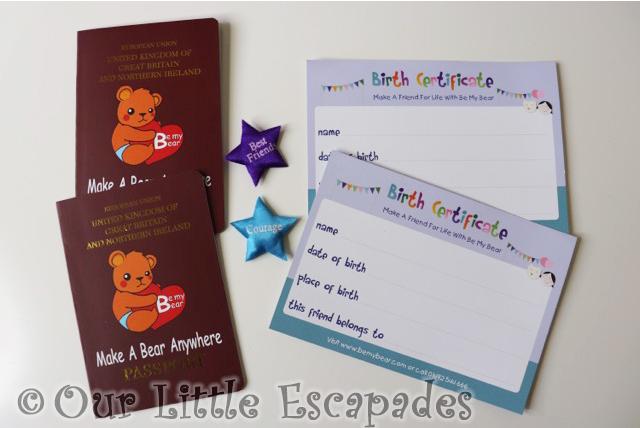 be my bear passport birth certificate