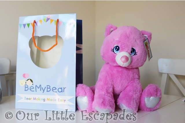 be my bear winnie pink kitty set