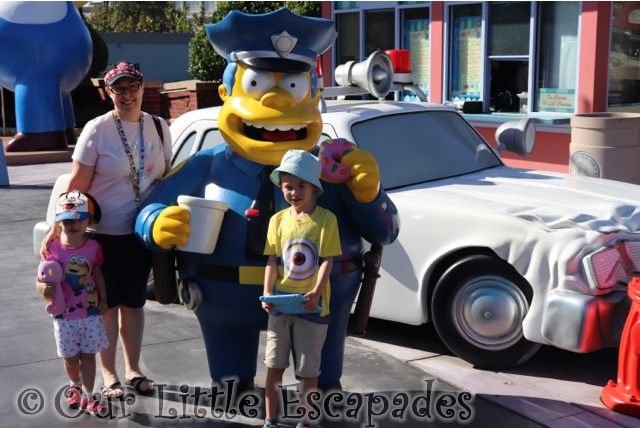 my sunday photo chief wiggum universal studios orlando