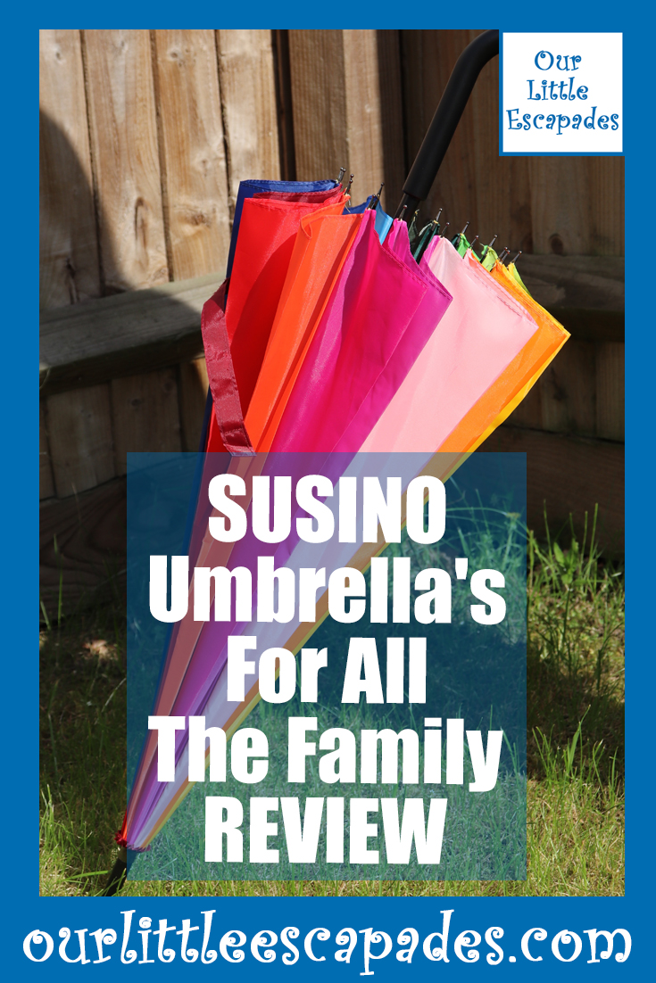 SUSINO umbrellas for all the family REVIEW