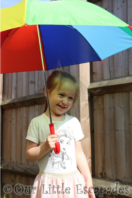 susino umbrellas childrens rainbow coloured walking umbrella