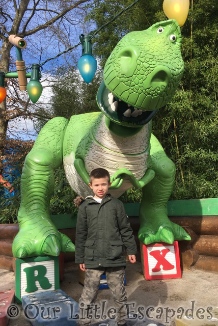 ethan disneyland paris toy story rex