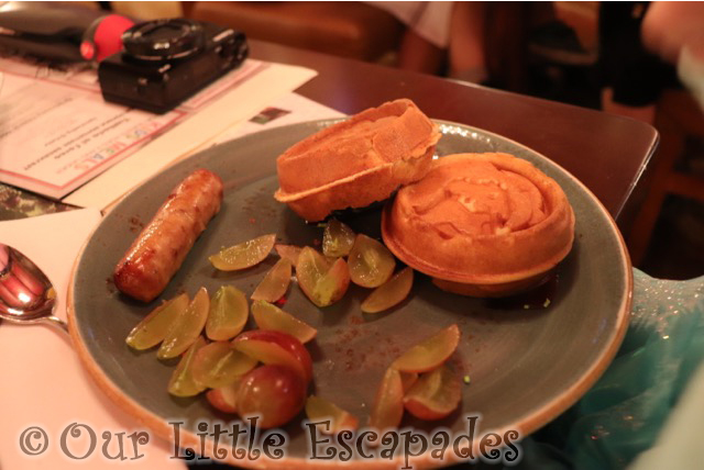 ariel pancakes childs breakfast trattoria al forno bon voyage adventure breakfast