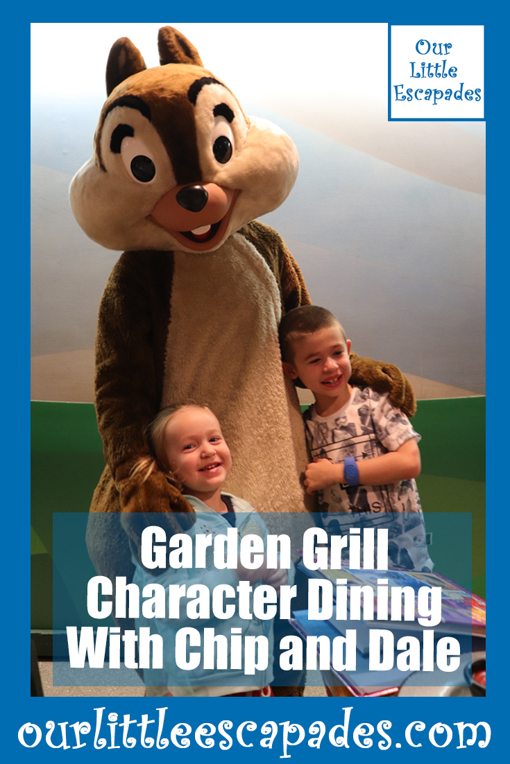garden grill character dining chip dale