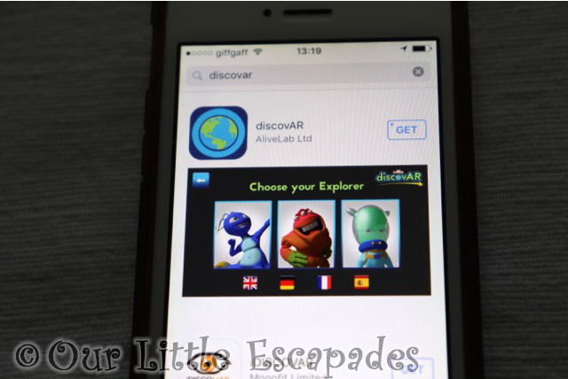 mardles discovar interactive app