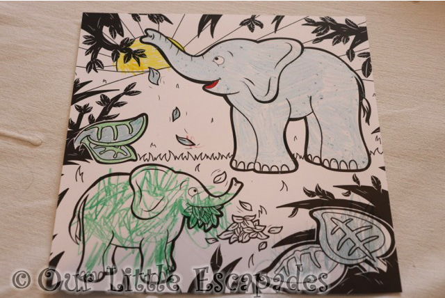 mardles discovar interactive colouring book in the jungle