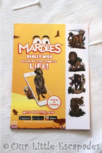mardles stickers really wild