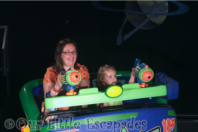 buzz lightyears space ranger spin ride photo
