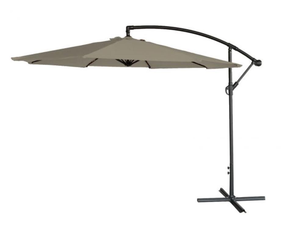 cantilever overhanging parasol