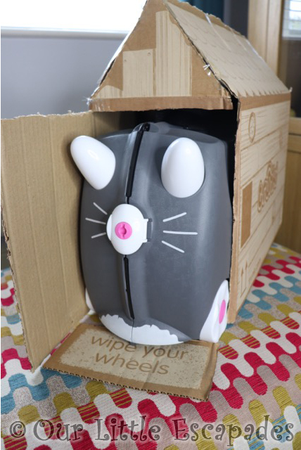 benny the cat trunki home