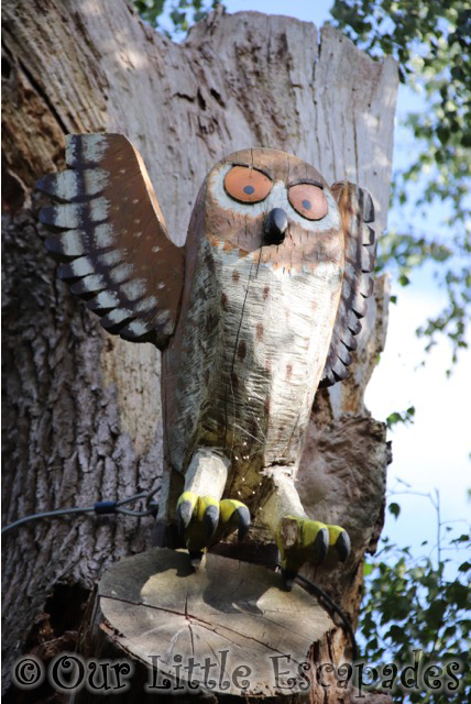 gruffalo trail owl thorndon country park