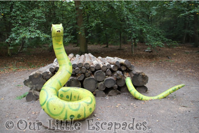 gruffalo trail snake thorndon country park