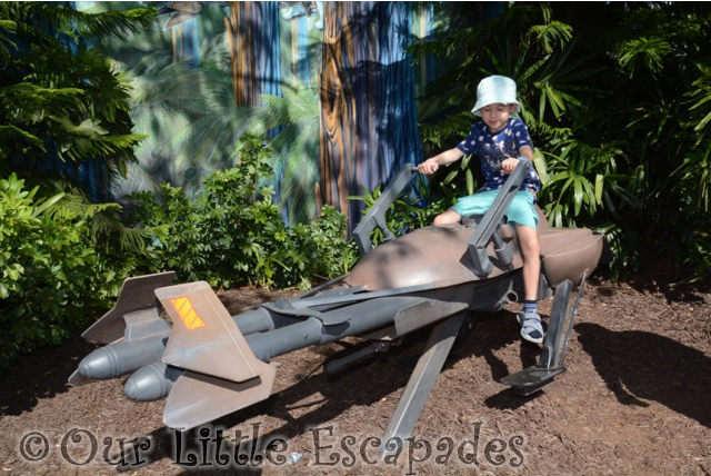 imperial speeder bike ethan disneys hollywood studios walt disney world