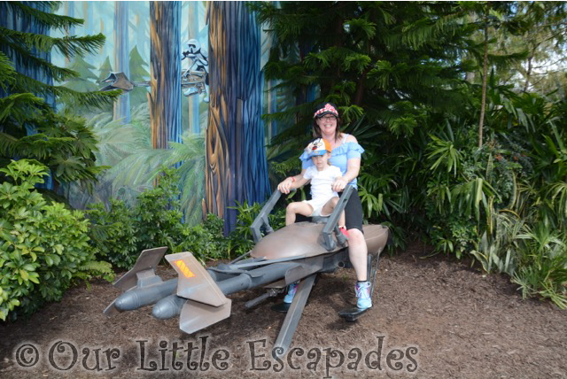 imperial speeder bike little e disneys hollywood studios walt disney world