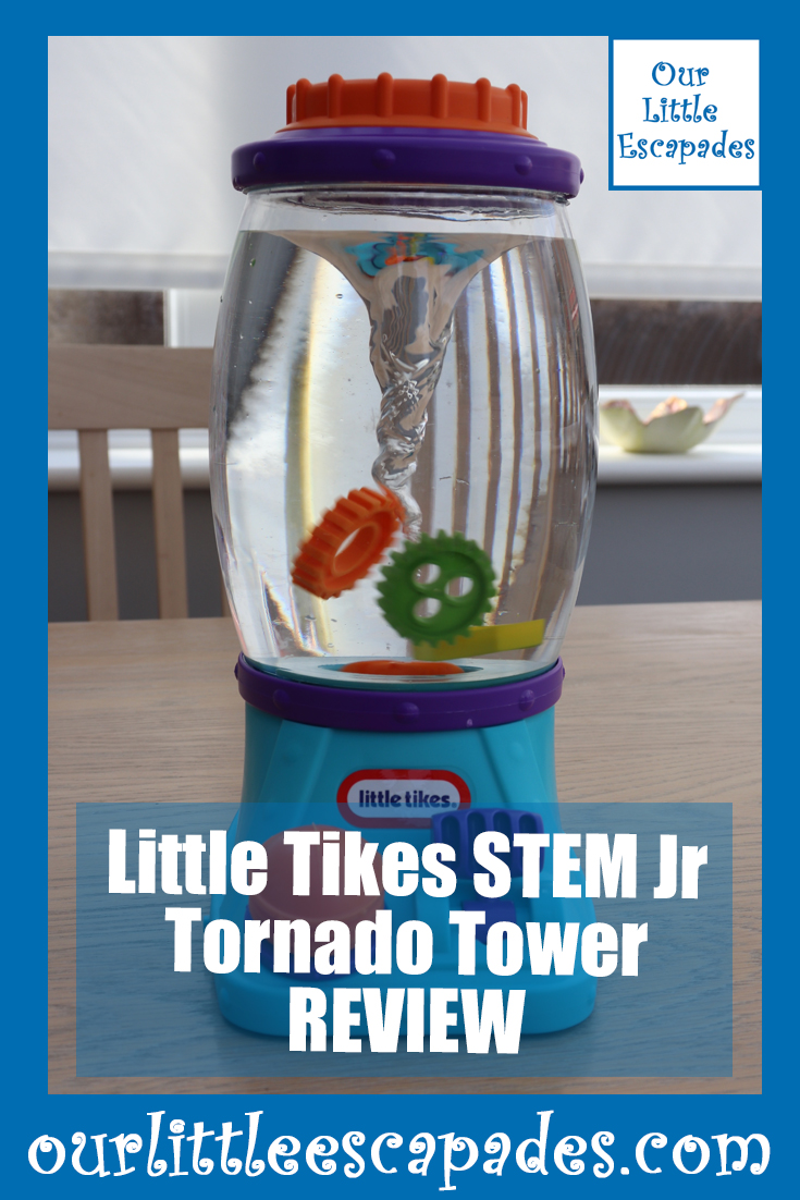 little tikes STEM jr tornado tower REVIEW
