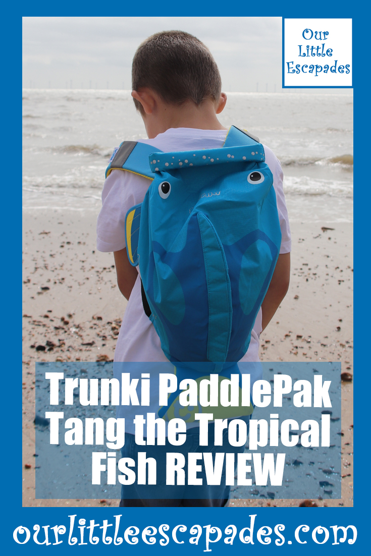 trunki paddlepak tang tropical fish REVIEW