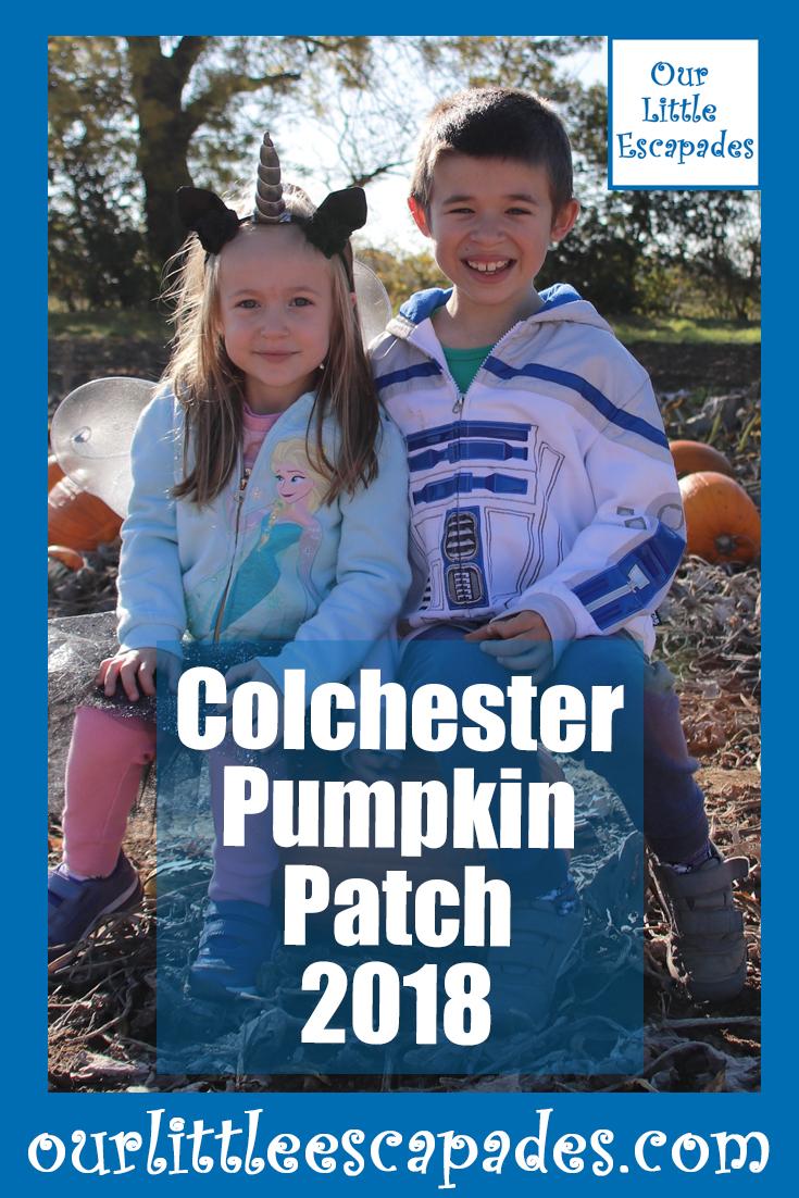 Colchester Pumpkin Patch 2018