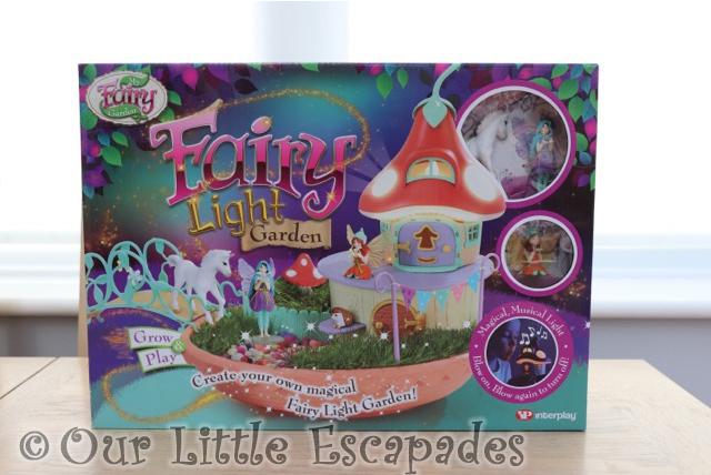 Fairy Light Garden box my fairy garden